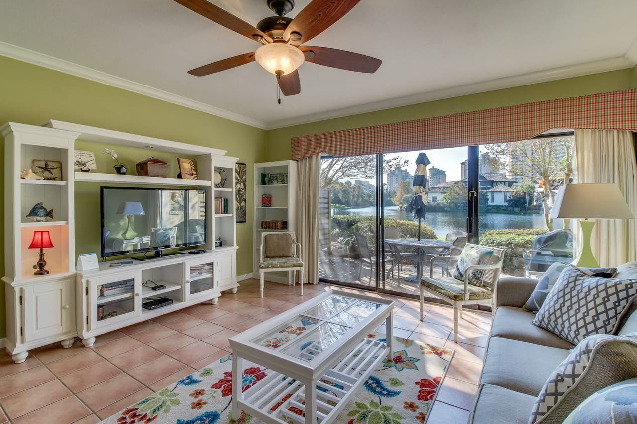 Miramar Beach, FL vacation rental with patio