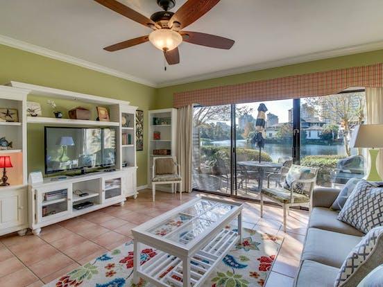 Miramar Beach, FL vacation rental with patio