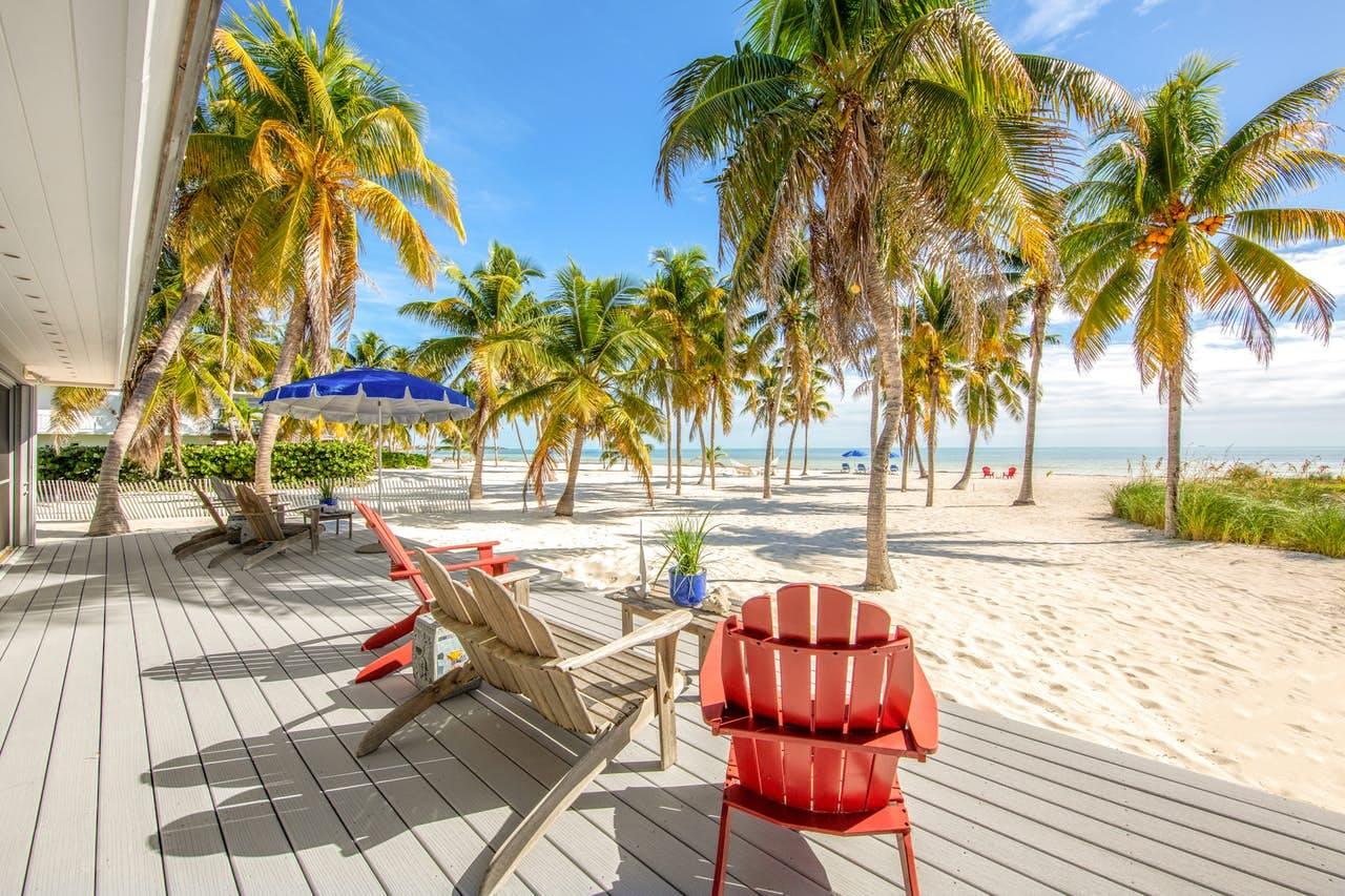 Beachfront vacation rental in Florida Keys