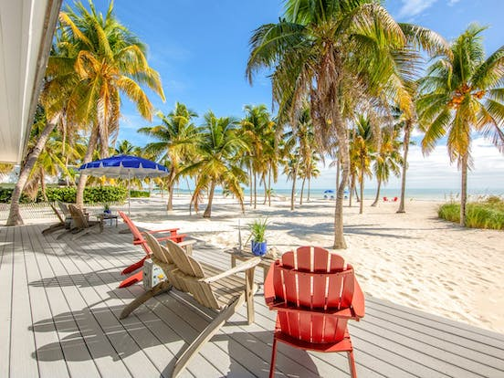 Beachfront vacation rental in Florida Keys