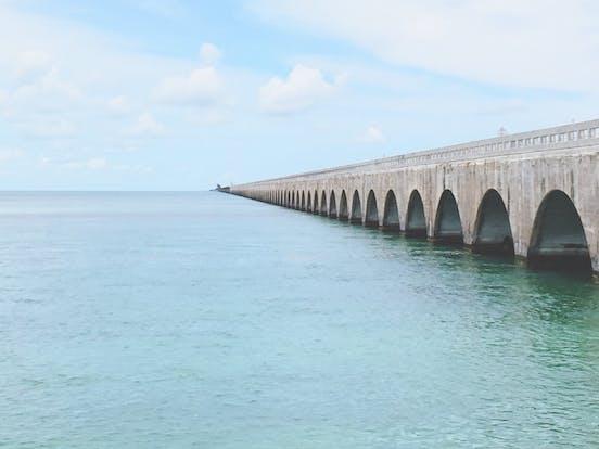 7 mile bridge in the florida keys