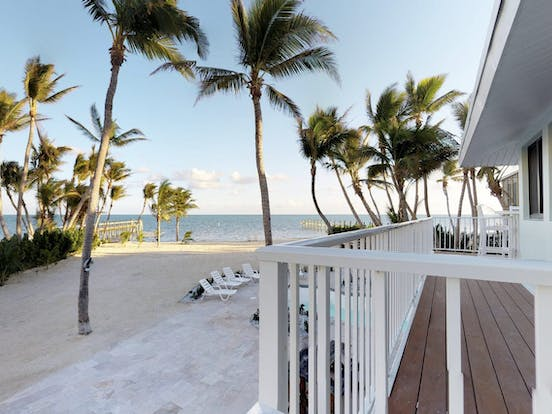 Waterfront vacation rental located on one-acre lot in Islamorada, FL