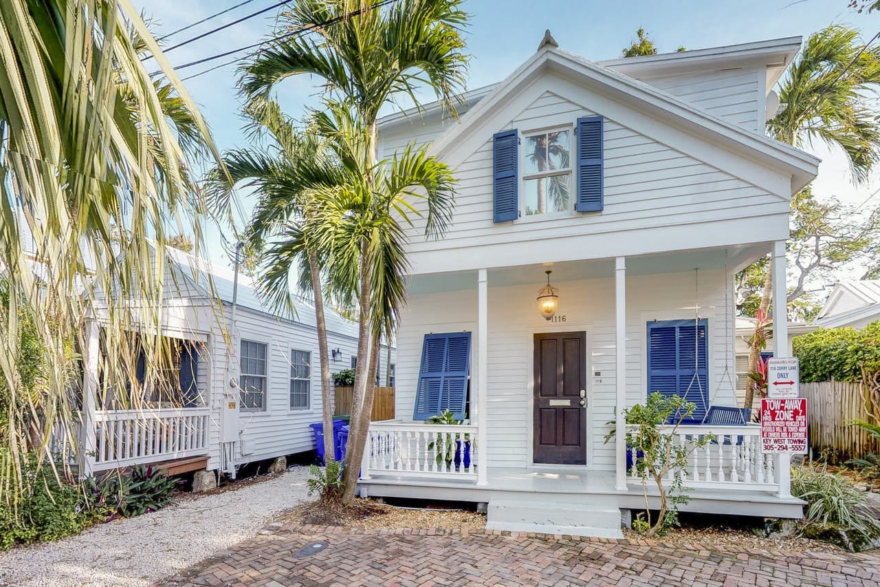 "3 bedroom vacation rental located in Key West, FL called ""Villa Azul"""