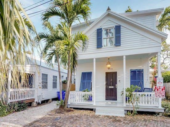 "3 bedroom vacation rental located in Key West, FL called ""Villa Azul"""