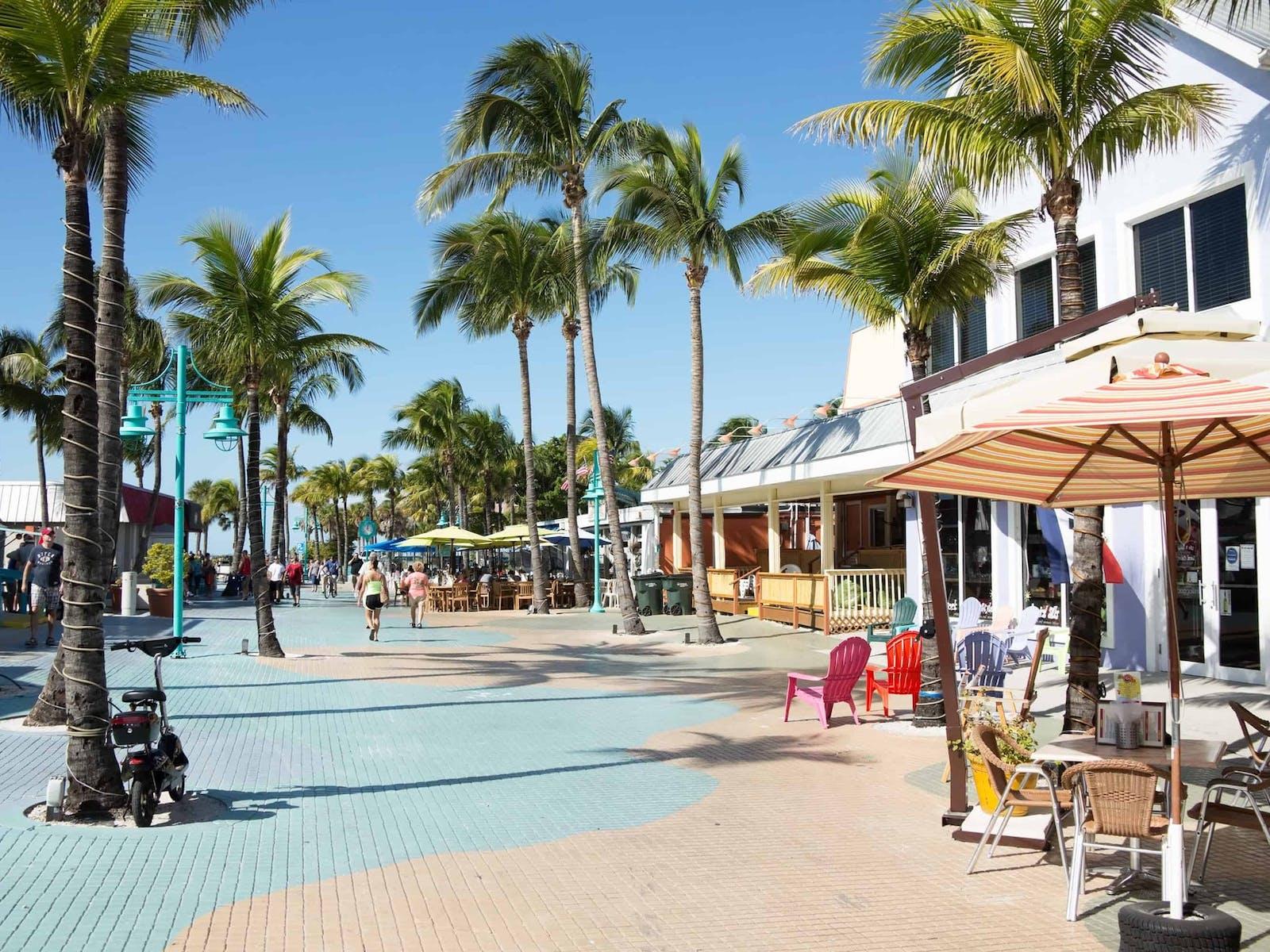 Boardwalk in Fort Myers, FL