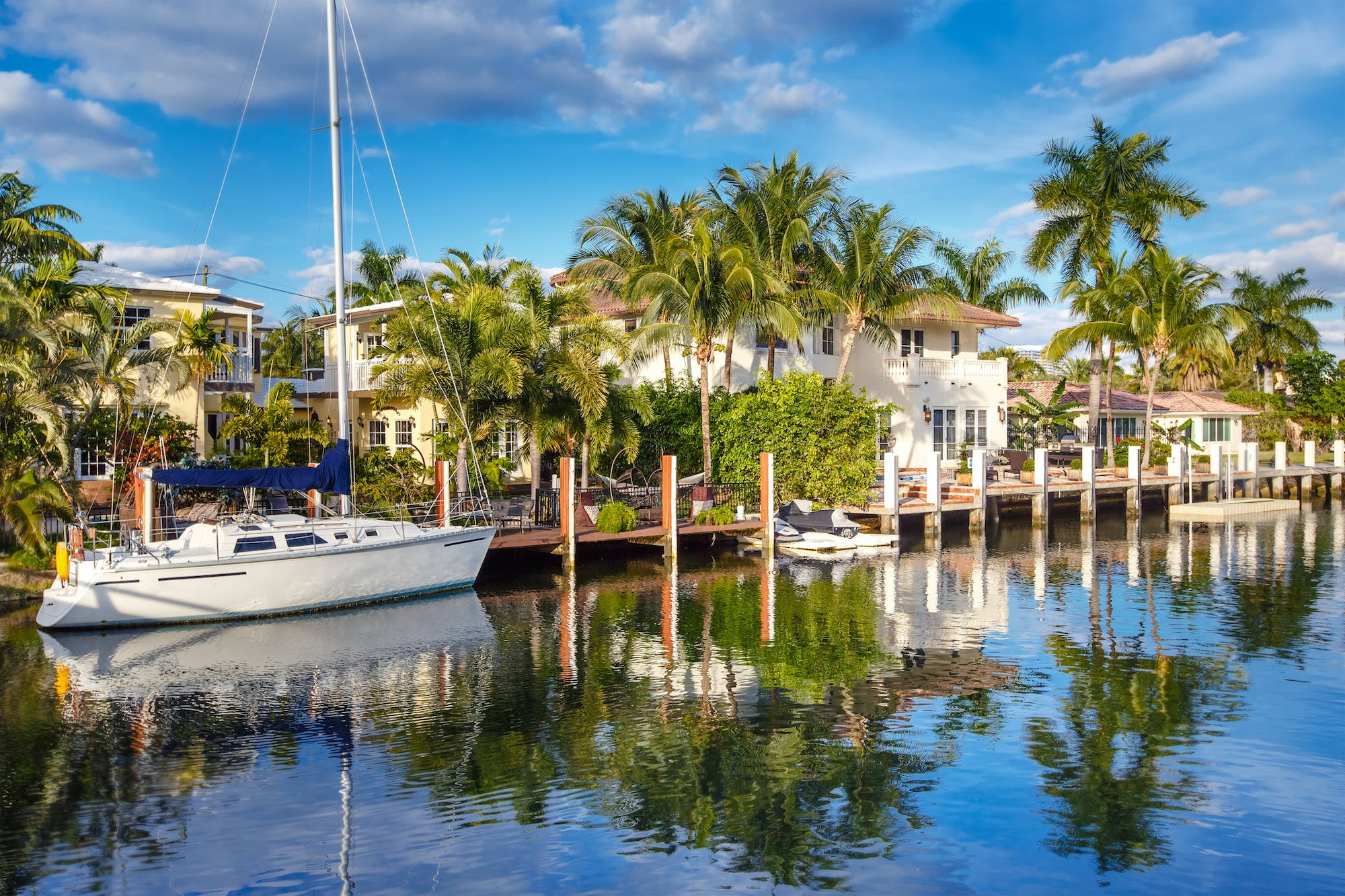 A view of the bay in Fort Lauderdale FL