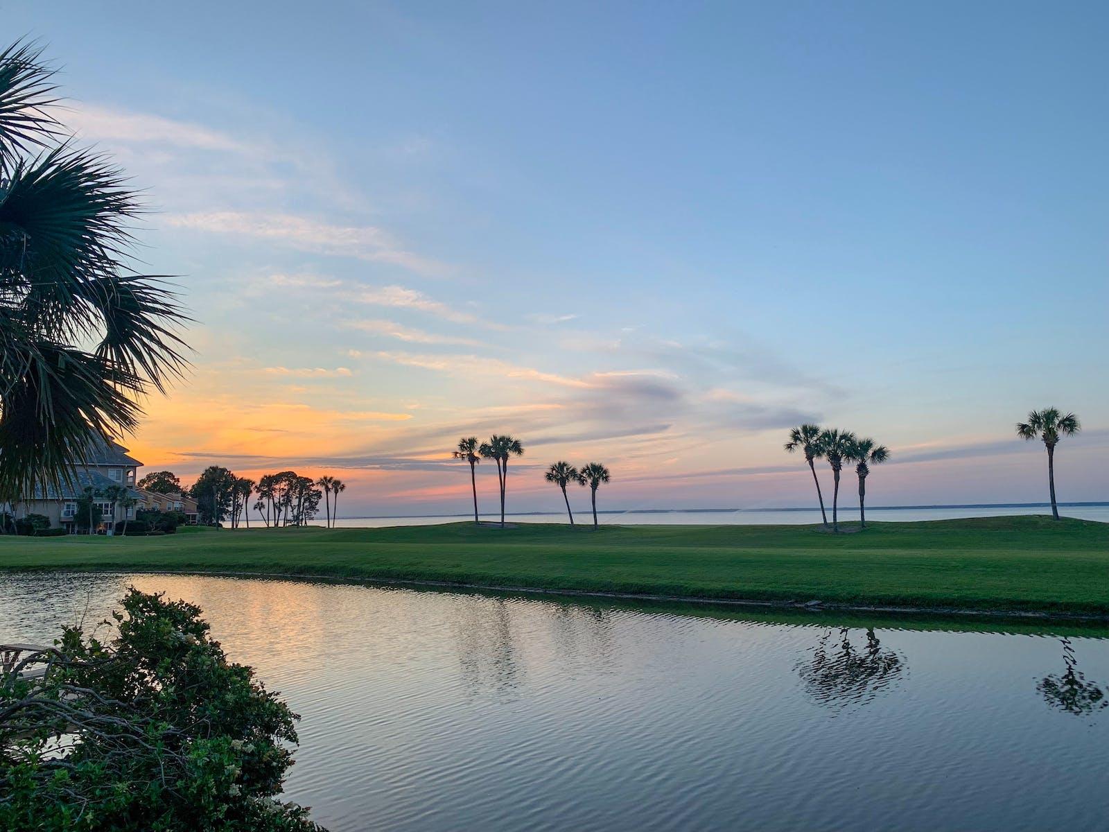 Golf course in Central America