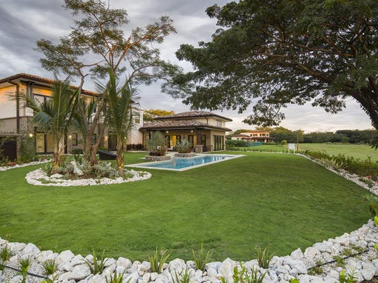 Golf course near Costa Rica vacation rental