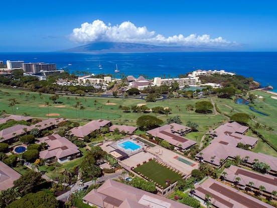 Maui Eldorado's on-site golf course