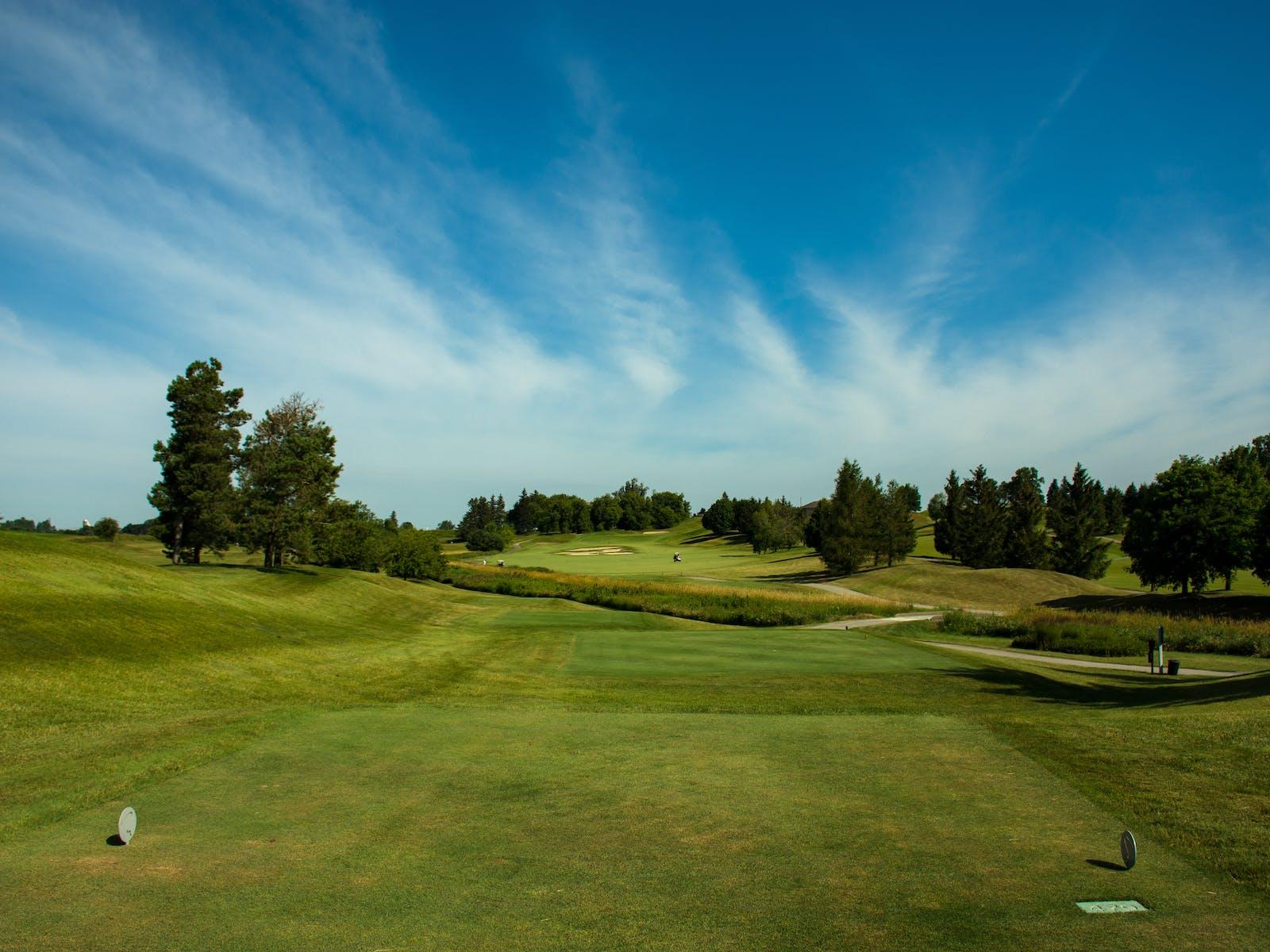 Golf course in Michigan