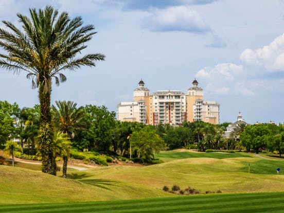 Golf course in Orlando, FL