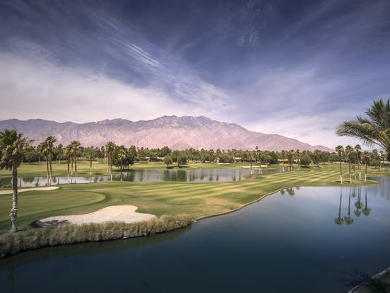 golf course in Palm Desert, CA