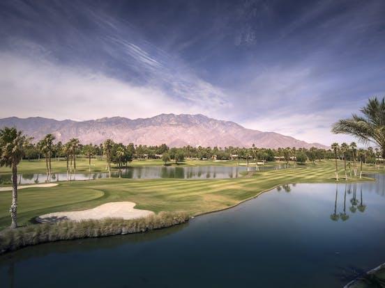 Golf course in Palm Desert, CA
