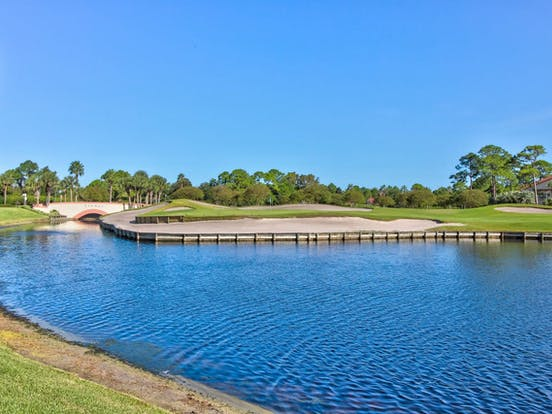 Golf course in Sandestin, FL
