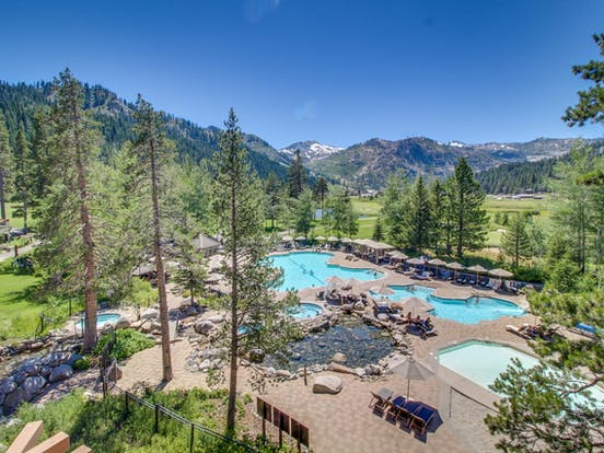 Golf resort in Lake Tahoe