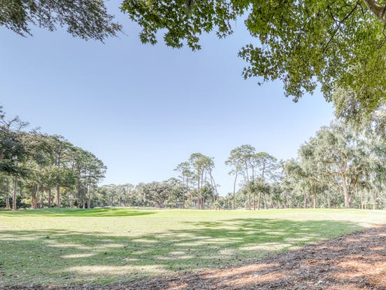 Golf course in Harbour Town, SC