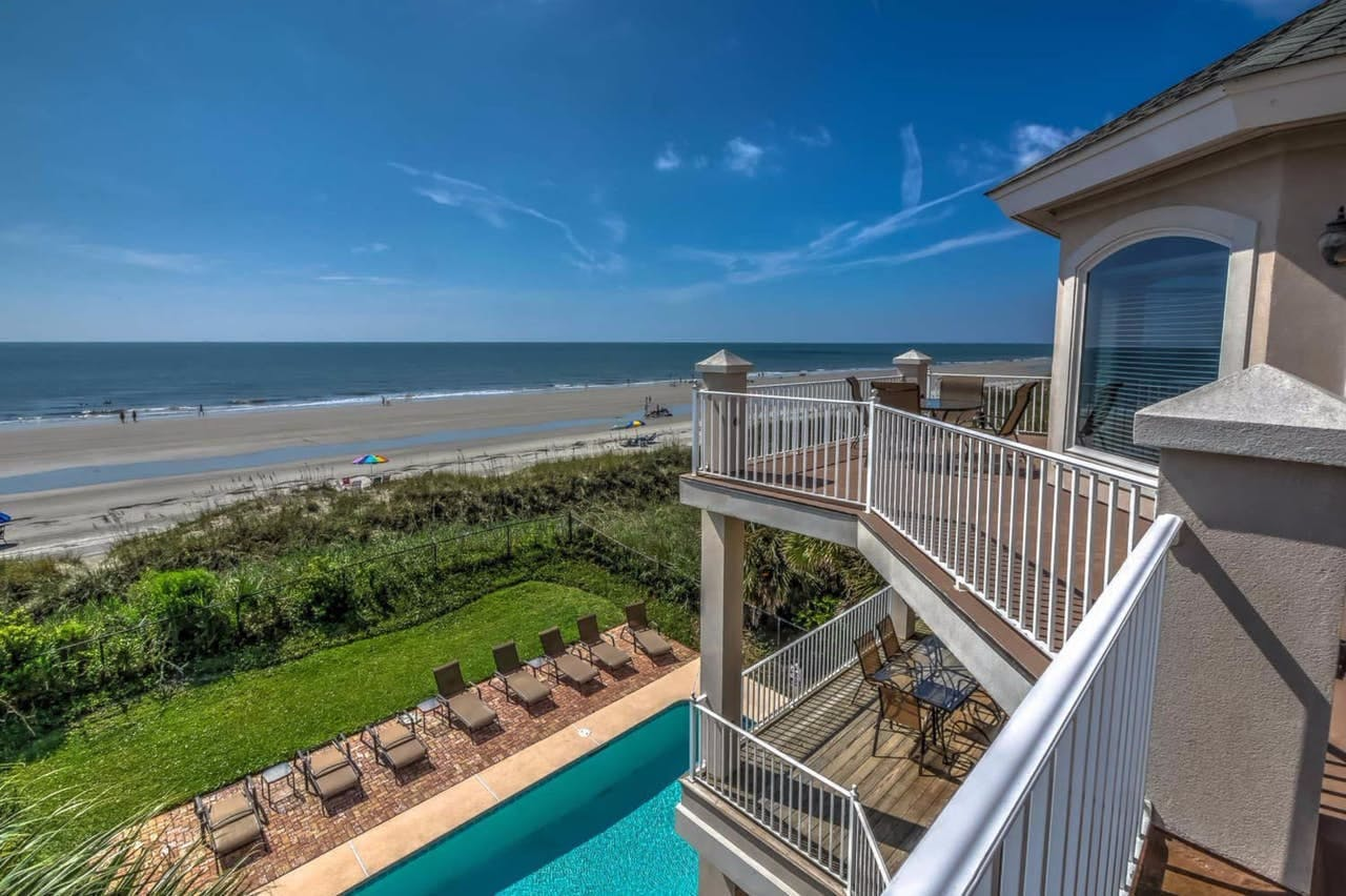 Hilton Head vacation home with private pool and ocean views