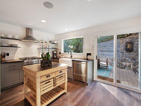 Kitchen of Glen Ellen, CA vacation rental