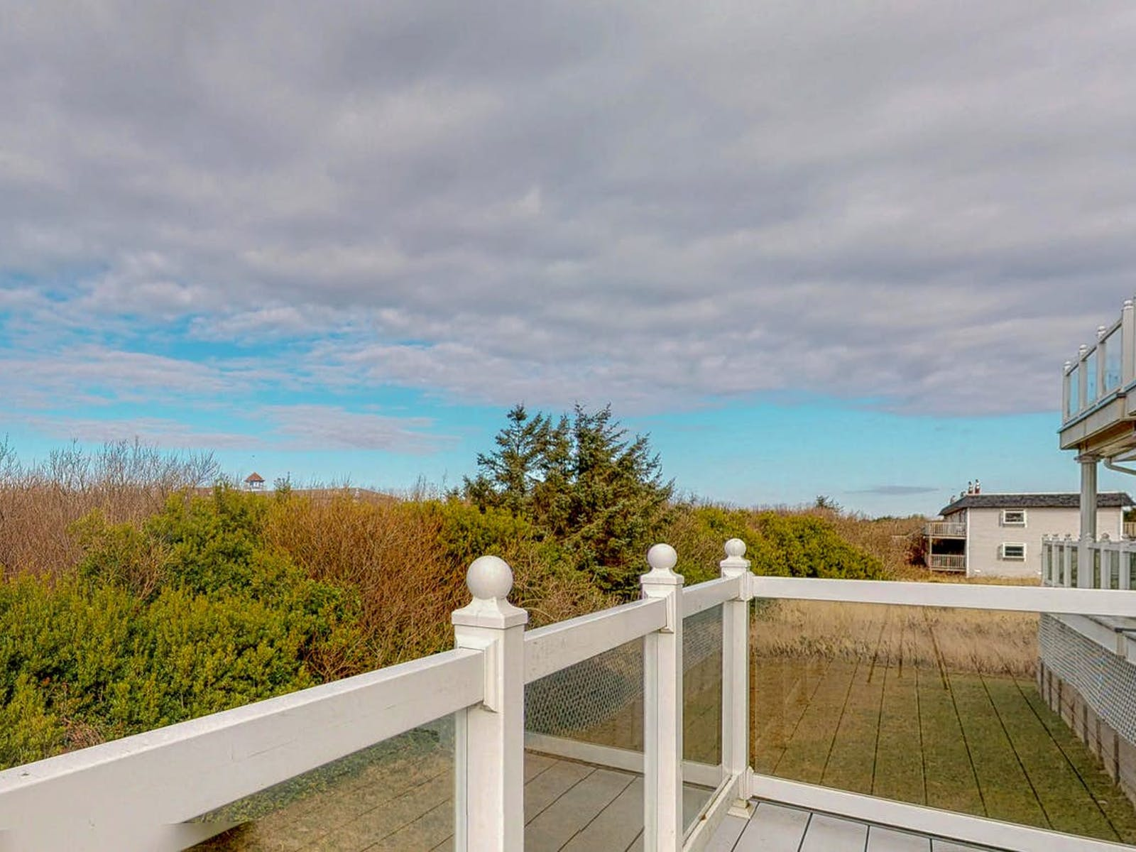 View from the balcony of Judith Ann Inn