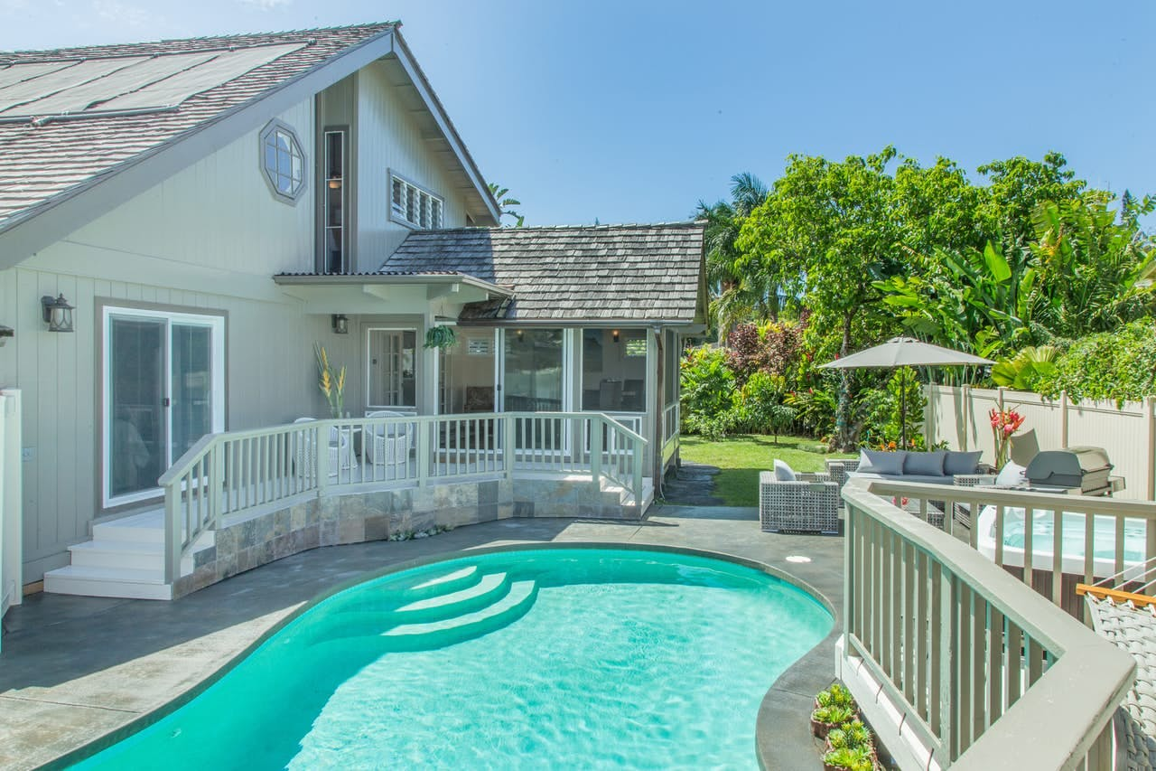 vacation cottage located in Princeville, Hawaii
