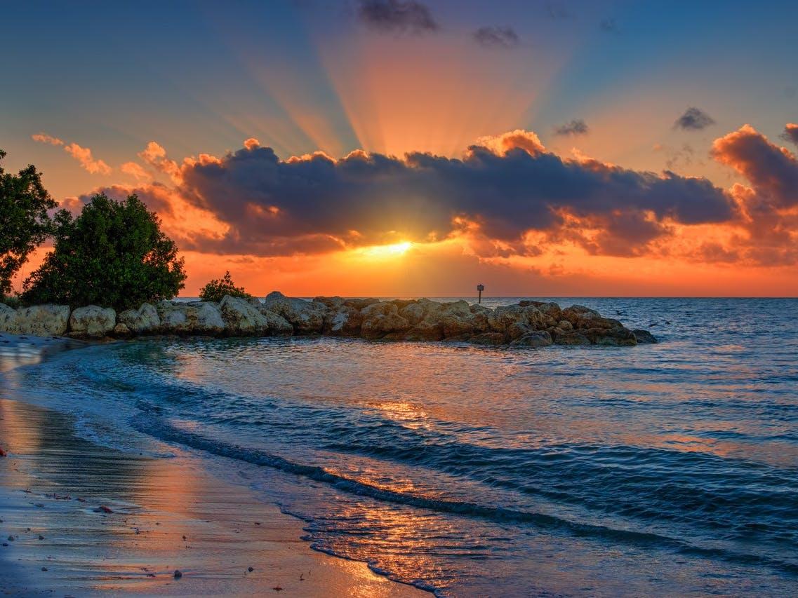 Sunset in Key West, FL