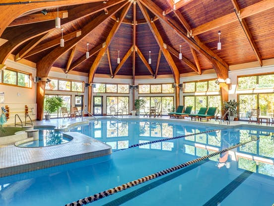 Indoor pool in Killington, VT