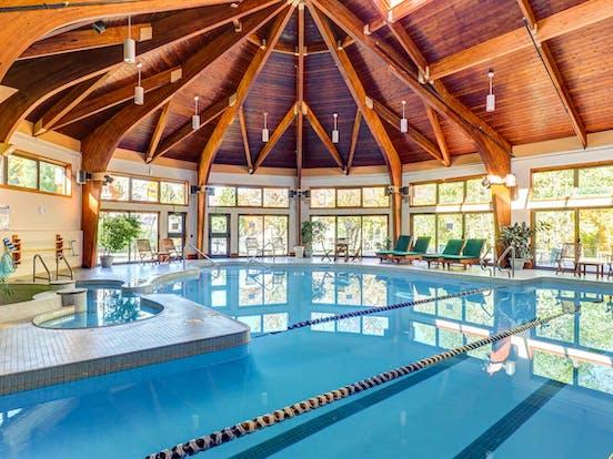 Indoor pool in Killington, VT