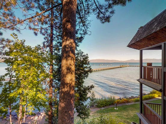 lake view vacation condo on the shores of Lake Tahoe