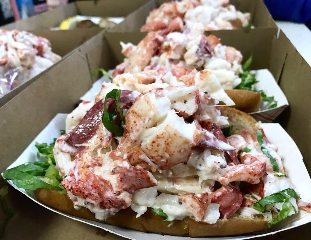 Fishermen's Grill lobster rolls