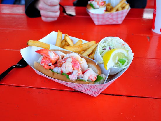 Portland Lobster Co. lobster roll