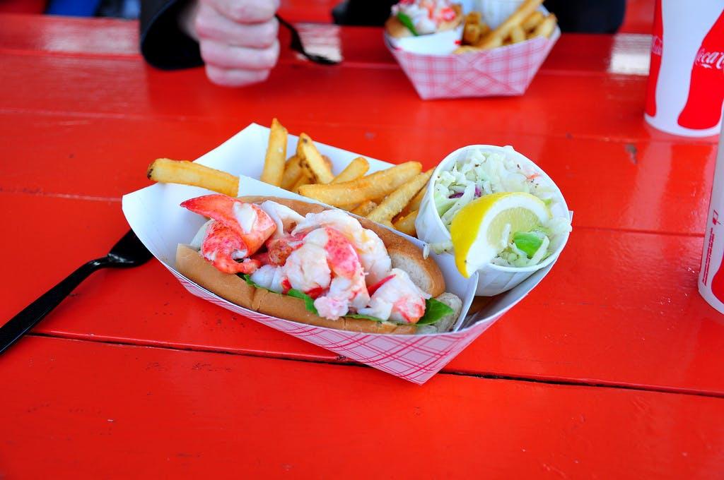 Portland Lobster Co. lobster roll