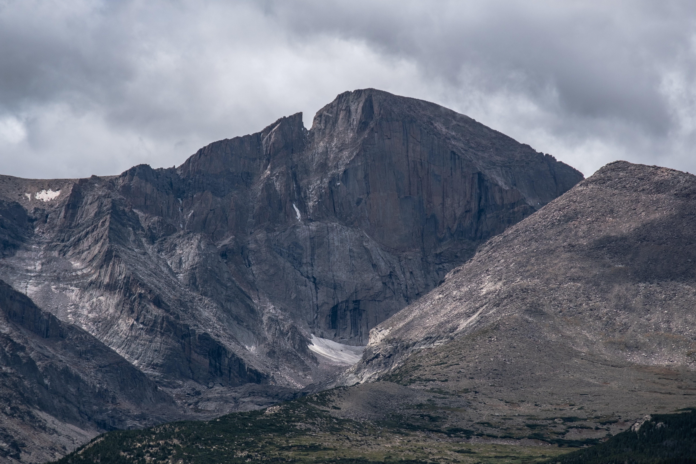 Longs Peak located near Estes Park, CO