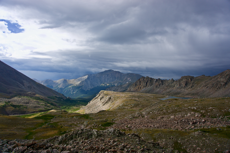 Rocky peaks in Colorado
