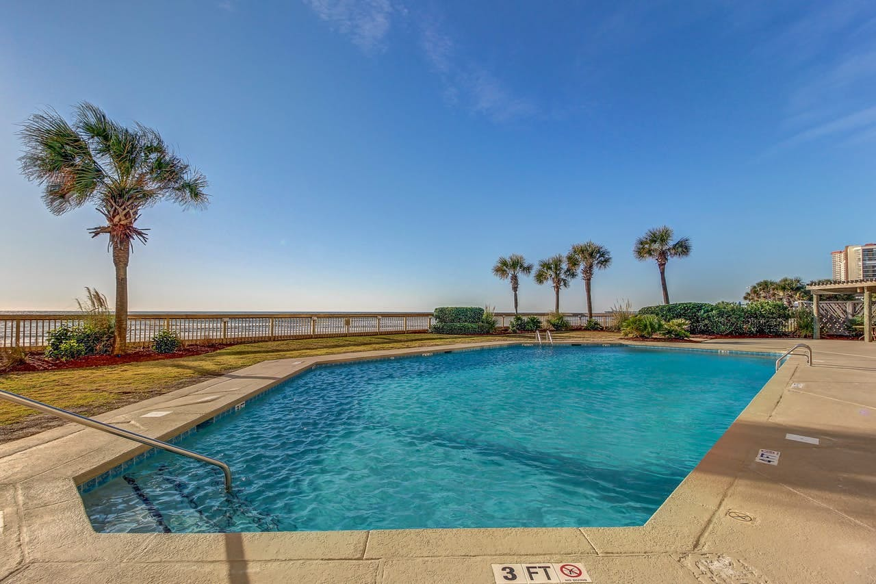 Outdoor pool located in Myrtle Beach, SC
