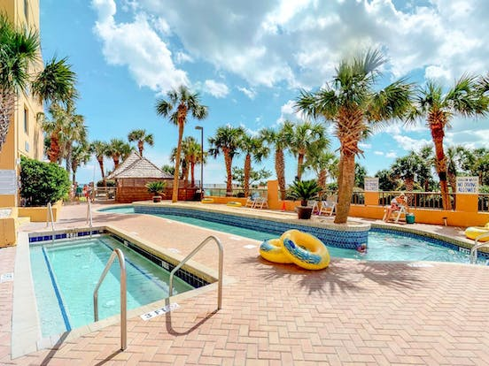 Myrtle Beach vacation resort with two outdoor pools
