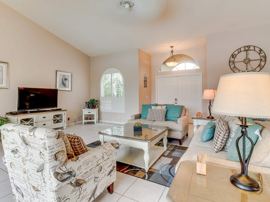 interior of Naples, FL vacation home