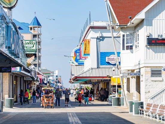 Ocean City, Maryland boardwalk