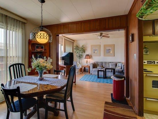 Interior of Gullway Villas condo rental in Ocean City, MD