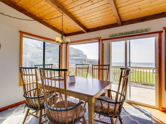 Shoreline Cottage – Cape Meares, OR
