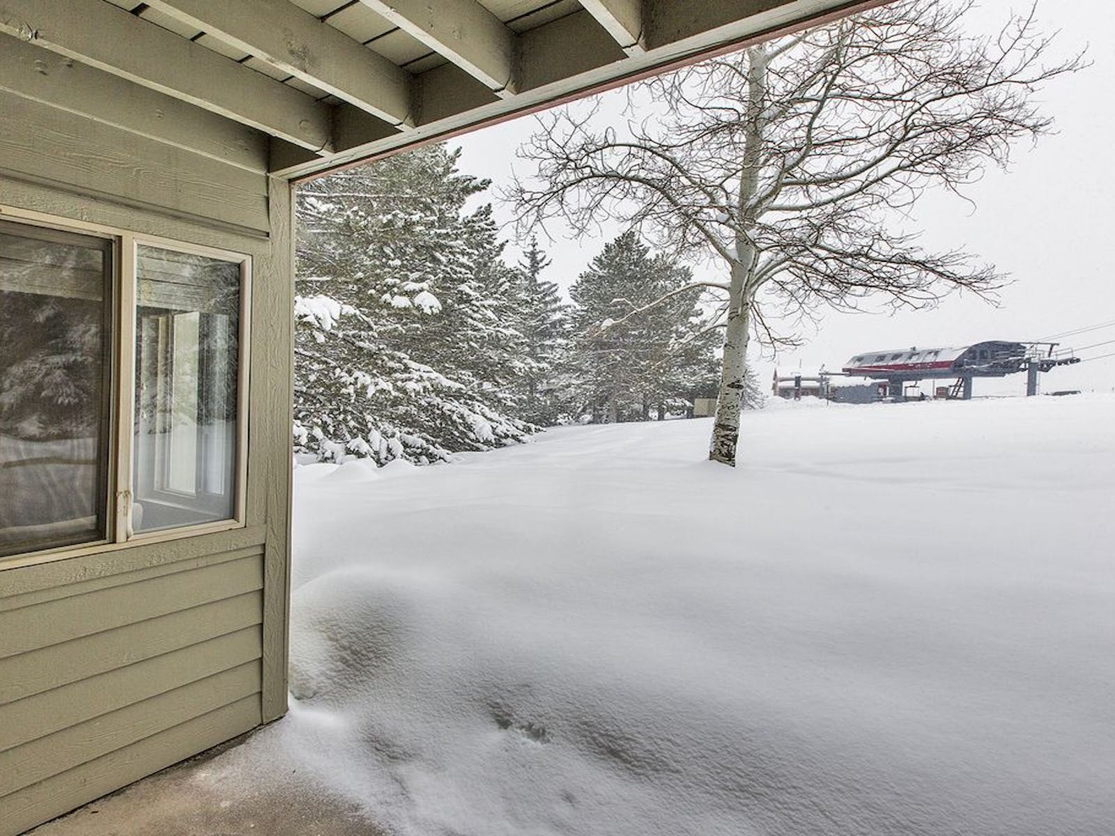 This Park City vacation rental is located right next to the Cabriolet ski lift.