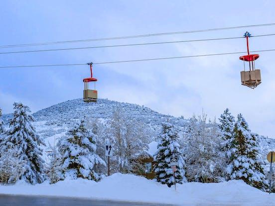 Park City, Utah ski lifts