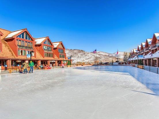 Ice skating rink located in Park City, Utah