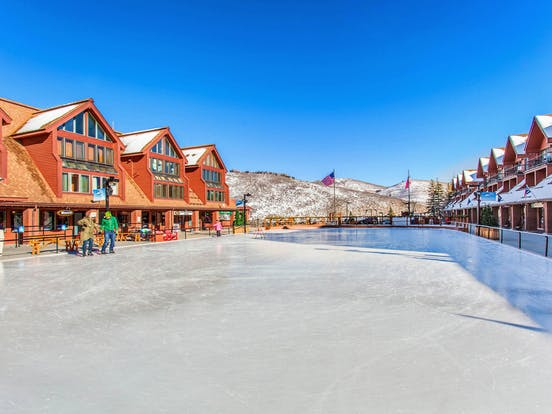 Ice skating rink located in Park City, Utah