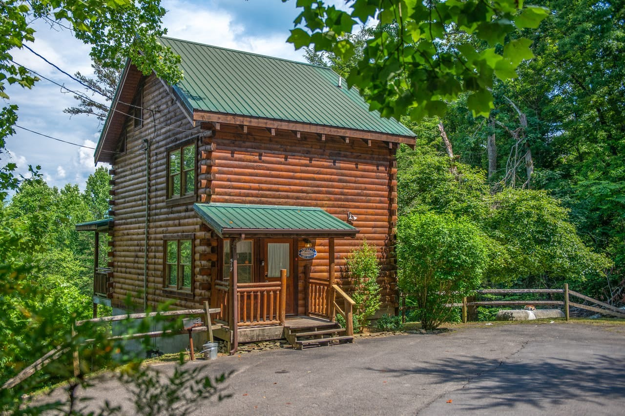 Aptly named 'Appalachian View' vacation cabin located in Gatlinburg, TN