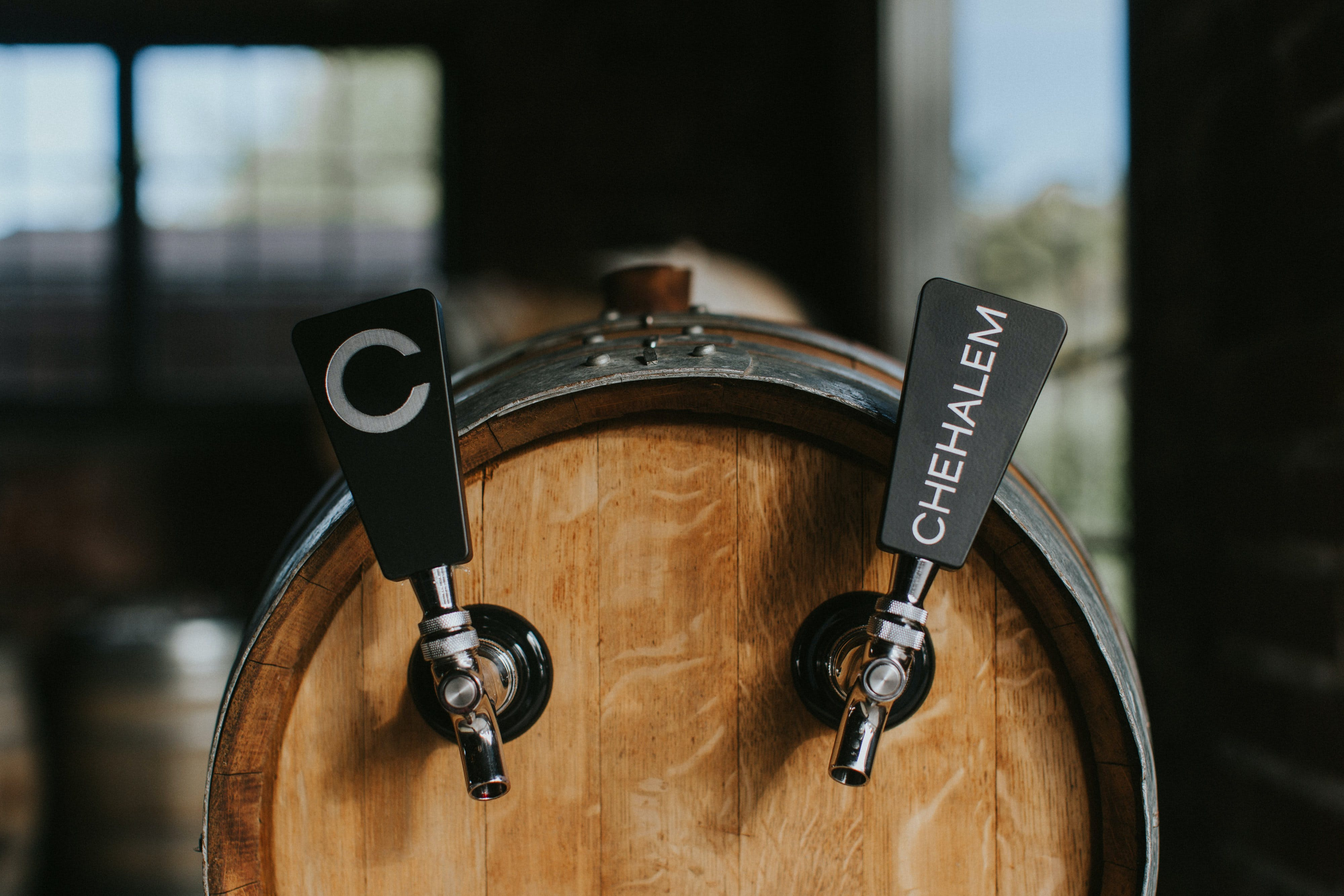 Wine barrel for Chehalem Wines