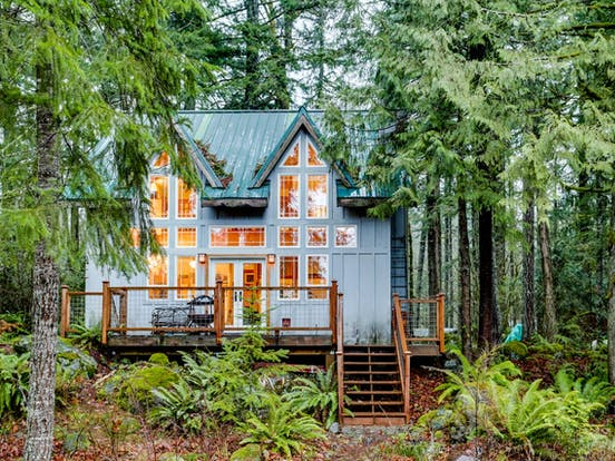Vacation rental in the woods in Rhododendron, OR
