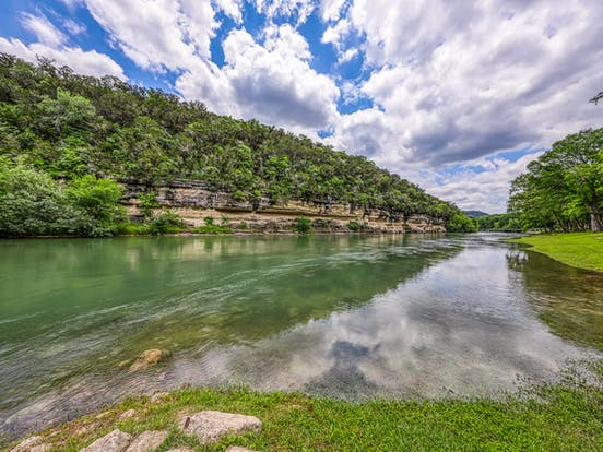 River in New Braunfels, TX