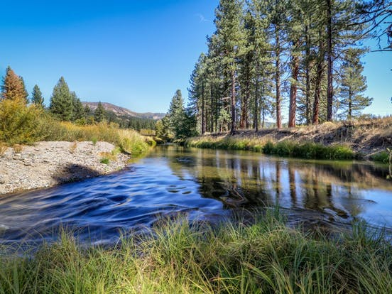River in northern California