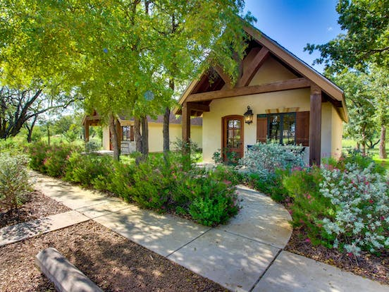 Two one bedroom, private vacation cottages located in Texas Hill Country