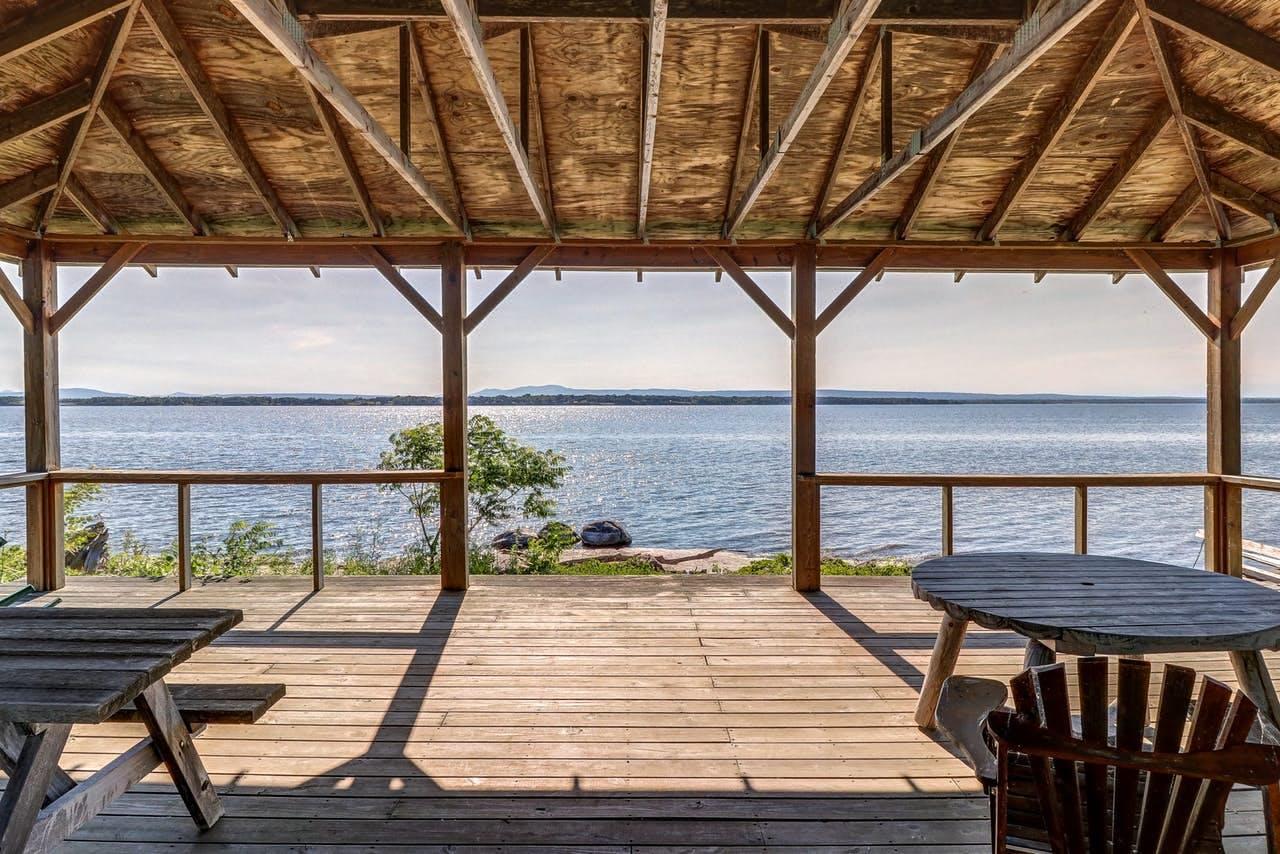 View of Lake Champlain